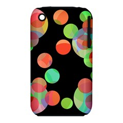 Colorful circles Apple iPhone 3G/3GS Hardshell Case (PC+Silicone)
