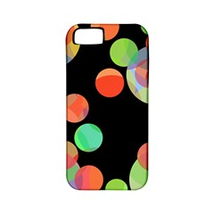 Colorful circles Apple iPhone 5 Classic Hardshell Case (PC+Silicone)