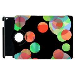 Colorful circles Apple iPad 2 Flip 360 Case