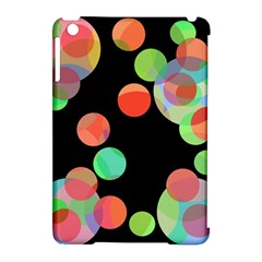 Colorful circles Apple iPad Mini Hardshell Case (Compatible with Smart Cover)