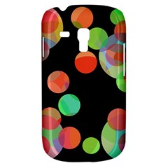 Colorful circles Samsung Galaxy S3 MINI I8190 Hardshell Case