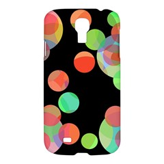 Colorful circles Samsung Galaxy S4 I9500/I9505 Hardshell Case