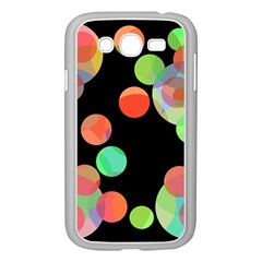 Colorful circles Samsung Galaxy Grand DUOS I9082 Case (White)