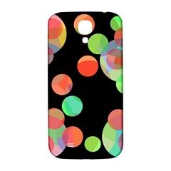 Colorful circles Samsung Galaxy S4 I9500/I9505  Hardshell Back Case