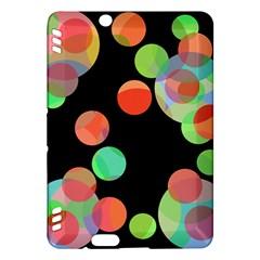 Colorful circles Kindle Fire HDX Hardshell Case