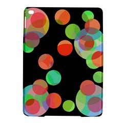 Colorful circles iPad Air 2 Hardshell Cases