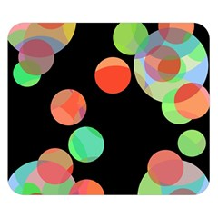 Colorful circles Double Sided Flano Blanket (Small)