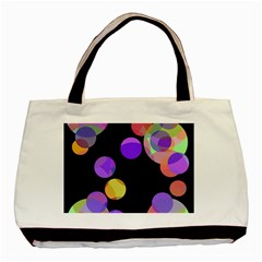 Colorful decorative circles Basic Tote Bag (Two Sides)