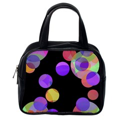 Colorful decorative circles Classic Handbags (One Side)