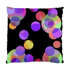 Colorful decorative circles Standard Cushion Case (Two Sides)