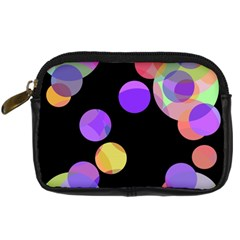 Colorful decorative circles Digital Camera Cases
