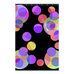 Colorful decorative circles Shower Curtain 48  x 72  (Small)