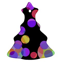 Colorful decorative circles Ornament (Christmas Tree)