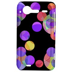 Colorful decorative circles HTC Incredible S Hardshell Case