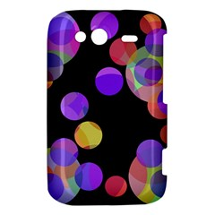 Colorful decorative circles HTC Wildfire S A510e Hardshell Case