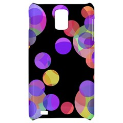 Colorful decorative circles Samsung Infuse 4G Hardshell Case