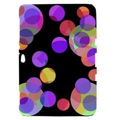 Colorful decorative circles Samsung Galaxy Tab 8.9  P7300 Hardshell Case