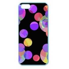 Colorful decorative circles Apple Seamless iPhone 5 Case (Color)