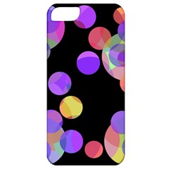 Colorful decorative circles Apple iPhone 5 Classic Hardshell Case