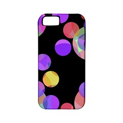 Colorful decorative circles Apple iPhone 5 Classic Hardshell Case (PC+Silicone)