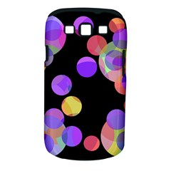 Colorful Decorative Circles Samsung Galaxy S Iii Classic Hardshell Case (pc+silicone)