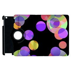 Colorful decorative circles Apple iPad 3/4 Flip 360 Case