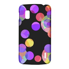 Colorful decorative circles LG Nexus 4
