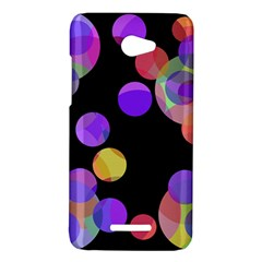 Colorful decorative circles HTC Butterfly X920E Hardshell Case