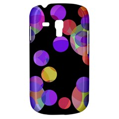 Colorful decorative circles Samsung Galaxy S3 MINI I8190 Hardshell Case