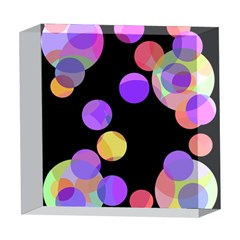 Colorful decorative circles 5  x 5  Acrylic Photo Blocks