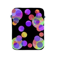 Colorful decorative circles Apple iPad 2/3/4 Protective Soft Cases