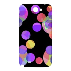 Colorful decorative circles Samsung Note 2 N7100 Hardshell Back Case