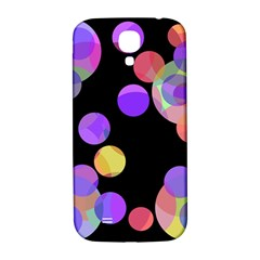 Colorful Decorative Circles Samsung Galaxy S4 I9500/i9505  Hardshell Back Case