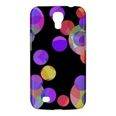 Colorful decorative circles Samsung Galaxy Mega 6.3  I9200 Hardshell Case