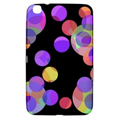 Colorful decorative circles Samsung Galaxy Tab 3 (8 ) T3100 Hardshell Case