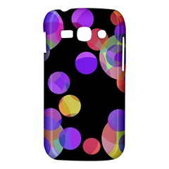 Colorful decorative circles Samsung Galaxy Ace 3 S7272 Hardshell Case