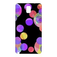 Colorful Decorative Circles Samsung Galaxy Note 3 N9005 Hardshell Back Case