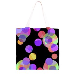 Colorful decorative circles Grocery Light Tote Bag
