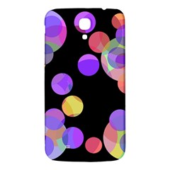 Colorful decorative circles Samsung Galaxy Mega I9200 Hardshell Back Case