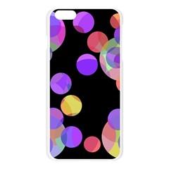 Colorful decorative circles Apple Seamless iPhone 6 Plus/6S Plus Case (Transparent)