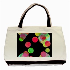 Colorful Decorative Circles Basic Tote Bag