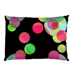 Colorful decorative circles Pillow Case (Two Sides)
