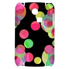Colorful decorative circles Samsung S3350 Hardshell Case