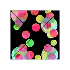 Colorful decorative circles Acrylic Tangram Puzzle (4  x 4 )