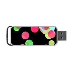 Colorful decorative circles Portable USB Flash (Two Sides)