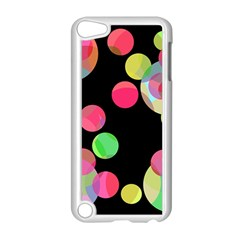 Colorful decorative circles Apple iPod Touch 5 Case (White)