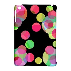 Colorful decorative circles Apple iPad Mini Hardshell Case (Compatible with Smart Cover)