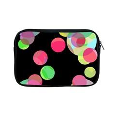 Colorful decorative circles Apple iPad Mini Zipper Cases