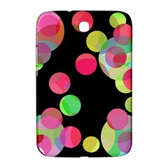 Colorful decorative circles Samsung Galaxy Note 8.0 N5100 Hardshell Case