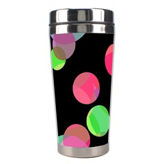 Colorful decorative circles Stainless Steel Travel Tumblers